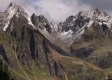 Pitztal, high summits