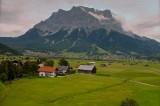 Ehrwald und die Zugspitze