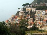 a cliffside Village