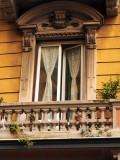 balcony in La Spezia