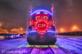 C.P. Rail Holiday Train 2014