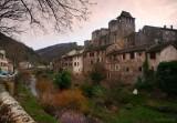 GORGES du TARN. BROUSSE le Chateau.
