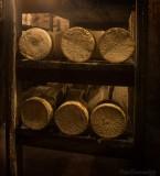 GORGES du TARN. Roquefort's cellar.