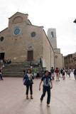 San Gimignano.Place for tourists