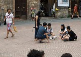 San Gimignano and the Japanese Drone