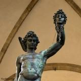 FIRENZE.Perseus Statue at  della Signoria  Place