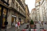 Firenze .Along the Cathedrale