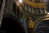 SIENA.Inside the Dome of the Cathedral