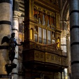 SIENA.Inside The Cathedral of Dome.Orgue