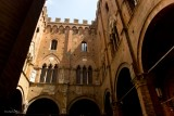 SIENA.From the yard of a palace