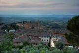 San Gimignano.Evening vision