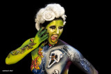 world body painting festival Austria