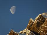 Moonset at the Glärnisch