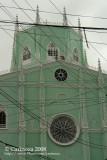 Top side façade
