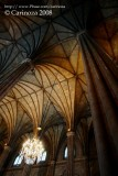 Vaulted ceiling
