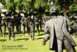 The Martyrdom of Dr. José P. Rizal - The Execution Scene