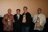 Three Lifetime Achievement Awardees