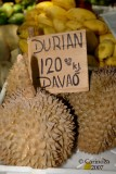 Durian from Davao