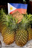 Pineapples from Tagaytay province