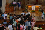 Symbolic greeting of the newly-born Jesus