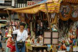 Religious items stall