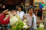 Sampaguita garland vendors