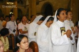 Holy candidates from the Missionaries of Charity