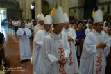 Bishops for the concelebrated mass