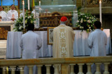 Blessing the relics of St. Thérèse of the Child Jesus
