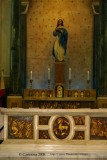 Main altar & Immaculate Conception image