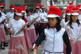 Student Drum & Lyre band from Malate Catholic School