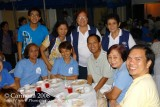 Mixed church groups with Fr. Lito ...