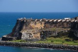 Closeup of Castillo San Felipe Del Morro