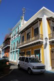 Colorful buildings of Old San Juan