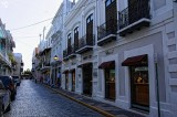 Ancient cobblestone streets of Old San Juan