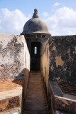 Looking into one of El Morro's 'garitas' (Sentry post)