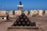 Cannonballs at El Morro