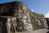 El Morro's thick walls