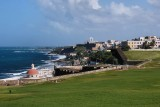 From El Morro, looking towards La Perla