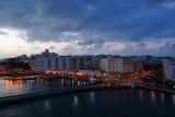 Old San Juan at dusk