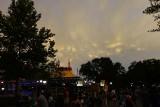 Mammatus clouds over Fantasyland