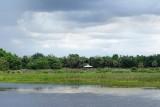 Green Cay Wetlands, stormy skies