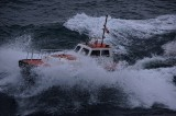 San Juan pilot boat in rough seas