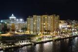 San Juan casino and city at night