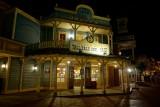 Pecos Bill Cafe, night