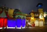 Adventureland Arabic section, night