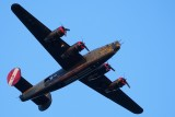 B-24 Liberator Witchcraft over the wetlands