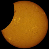 Partial Solar Eclipse 10 May 2013