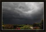 Heavy storm heading south