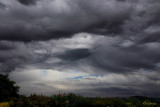 Storm clouds passing